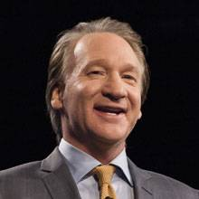 Few comedians keep their humor as topical as Bill Maher.