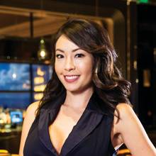 Shannon Higa wants you to sip, savor and soak in the city at Caesars Palace's cocktail lounge.