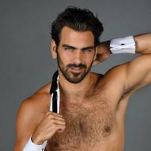 Model and deaf activist guest hosts with 'Chippendales The Show.'