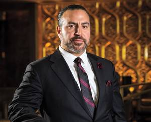 Andre Teixeira shows loves for the industry and Caesars Palace.