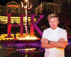 With Hell's Kitchen, the celebrity chef adds another restaurant to his growing empire.