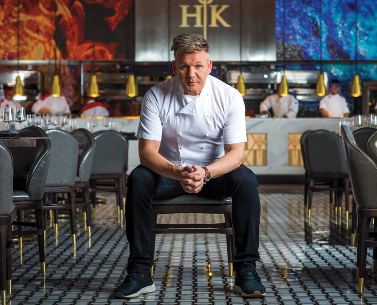 Gordon Ramsay Fans The Flames Las Vegas Magazine
