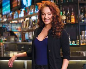 Stephanie Gomez is a fiery yet friendly force behind the bar.