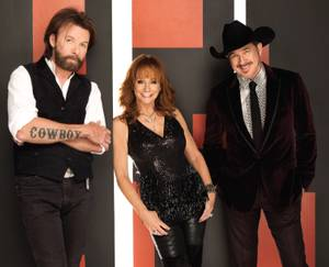 Twangy trio resumes their hit residency at Caesars Palace.