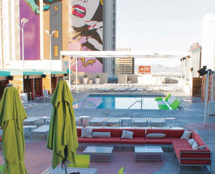 Downtown Hotels Offer Plenty Of Pool Fun Las Vegas Magazine