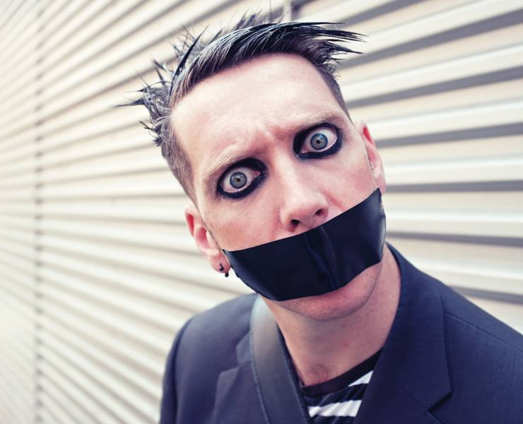 Tape Face Lets Silence Do The Talking Las Vegas Magazine