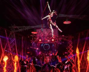 Cirque du Soleil production celebrates five years on the Strip.