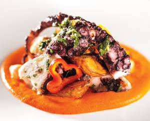 Hubert Keller's Mandalay Bay restaurant has enough to keep you coming back for more.
