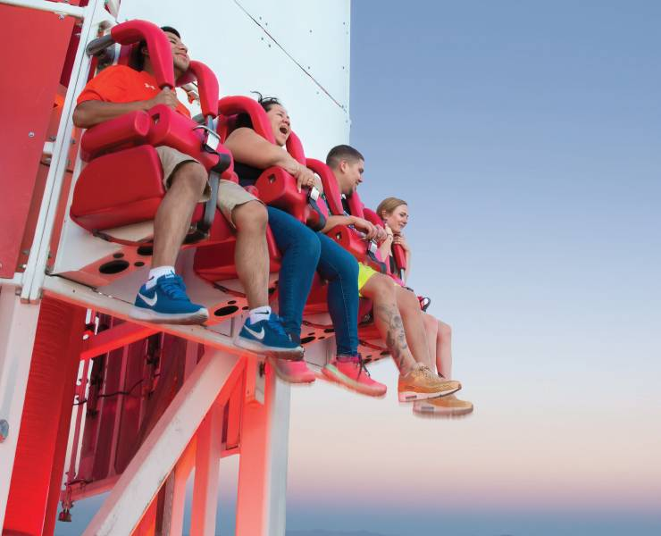 Stratosphere Thrill Rides Deliver Sky High Screams Las Vegas Magazine