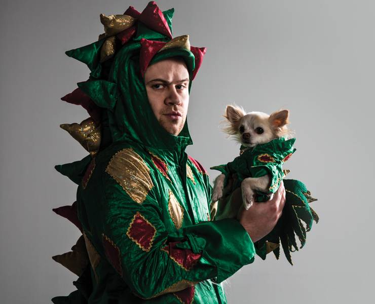 For Piff the Magic Dragon it's easy being green