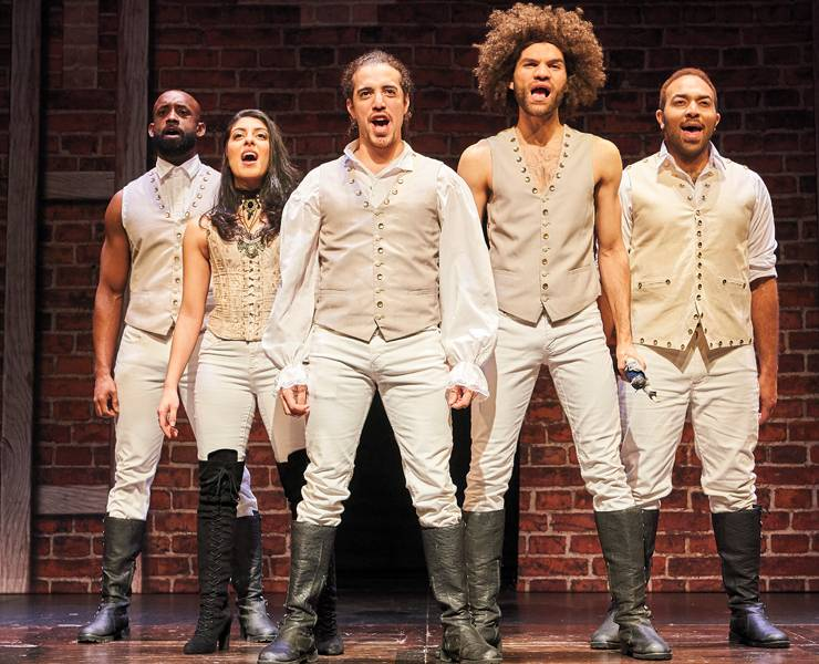 'Spamilton' a terrific parody of a Broadway smash