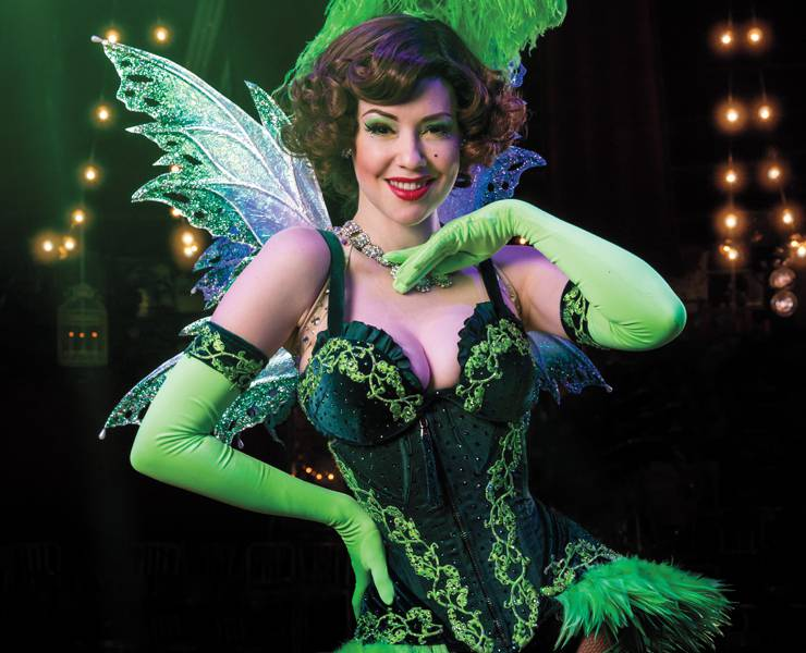 Take a wild ride with 'Absinthe'