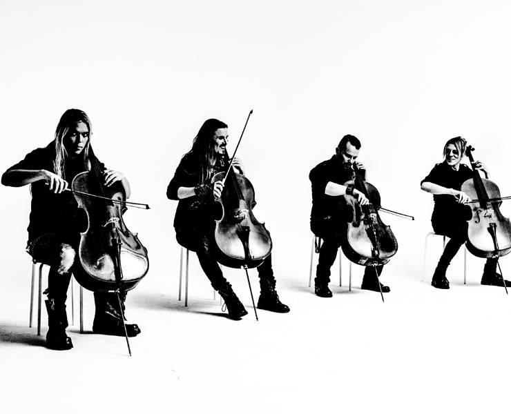 Apocalyptica delivers 'Four Cellos' at Smith Center