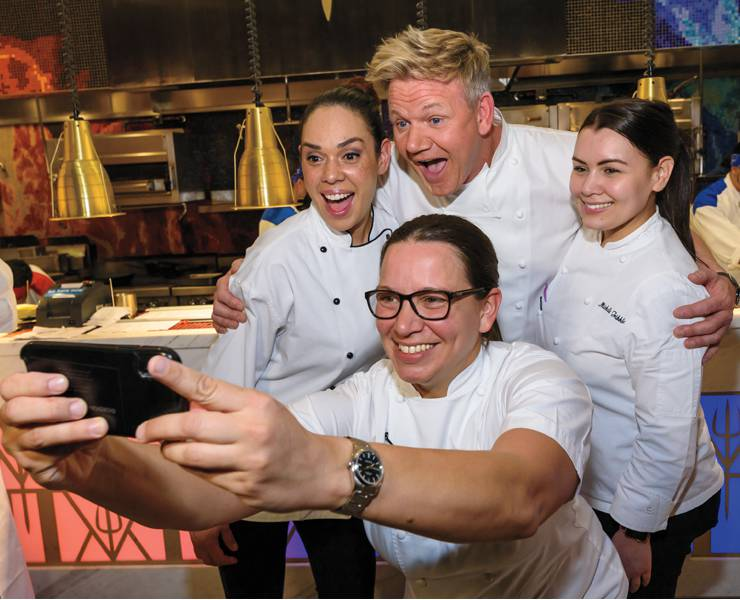 Hell S Kitchen S Had A Fiery First Year Las Vegas Magazine