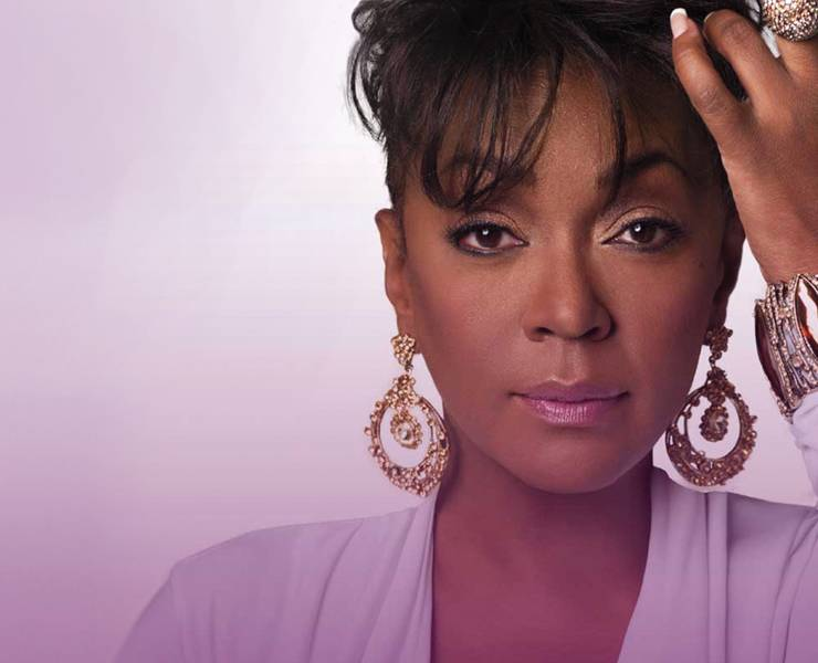 Anita Baker is giving you the best that she's got
