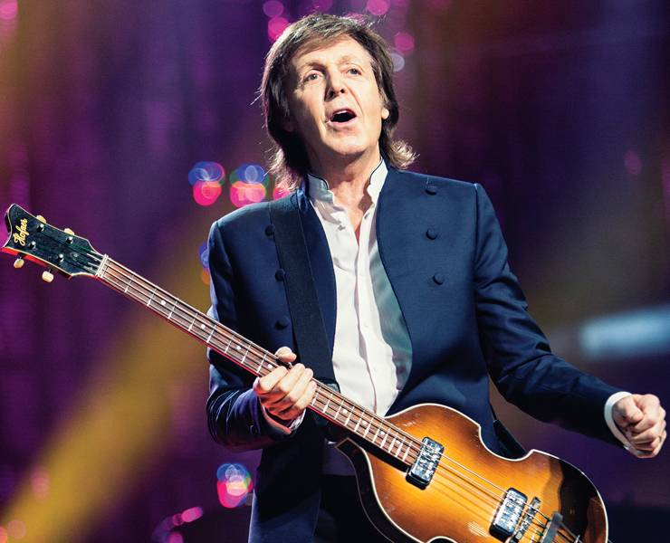 Paul McCartney gets back to Vegas