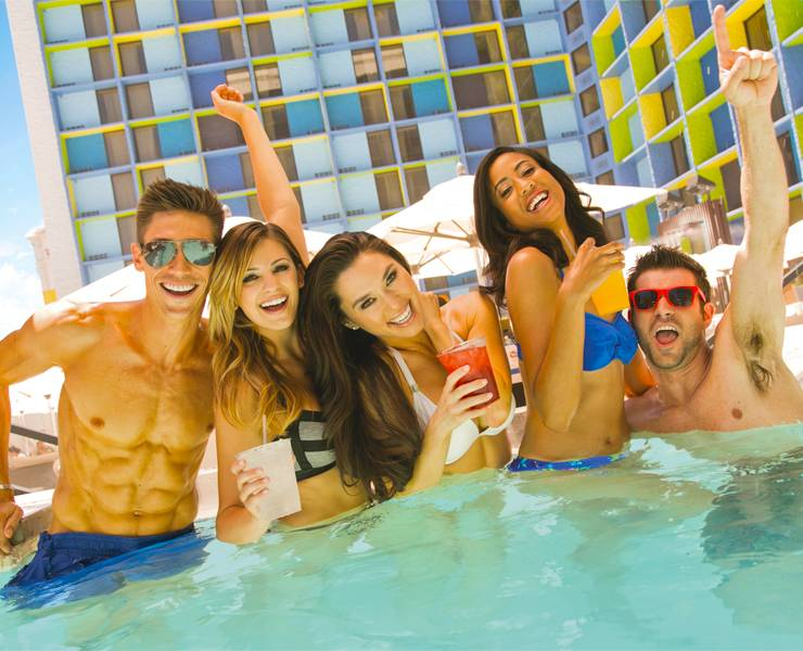 Pool At The Linq Guides Summer Fun