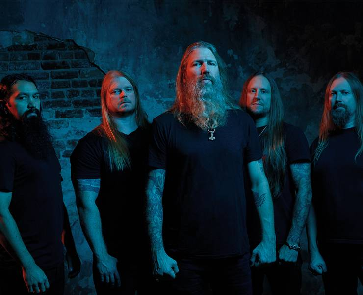 Amon Amarth is sailing metal seas