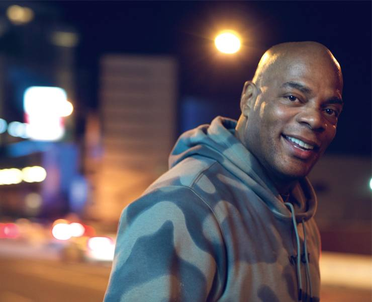Alonzo Bodden is a man of many talents