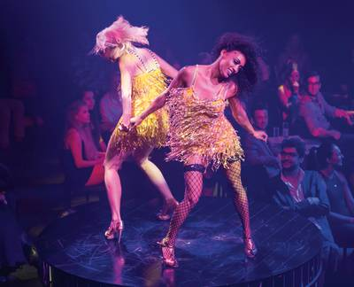 Cabaret show is a lively, bubbly experience at Sahara Las Vegas.