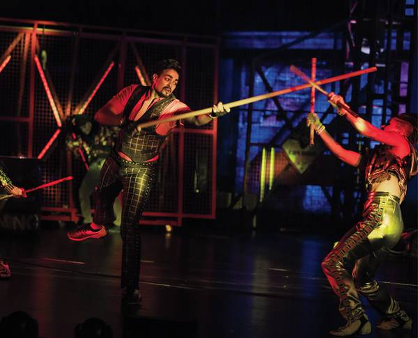 Feel part of the action at Cirque du Soleil's 'R.U.N'