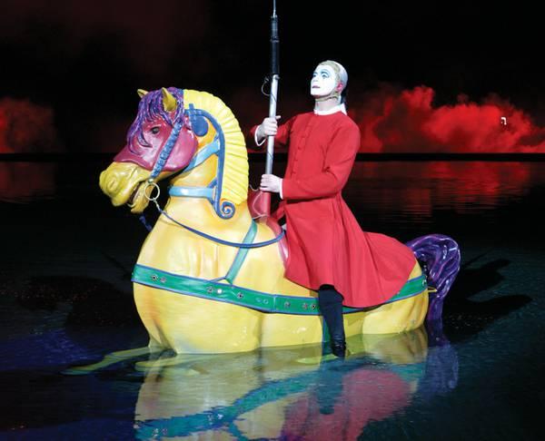 Cirque du Soleil's Las Vegas show 'O' floods the imagination
