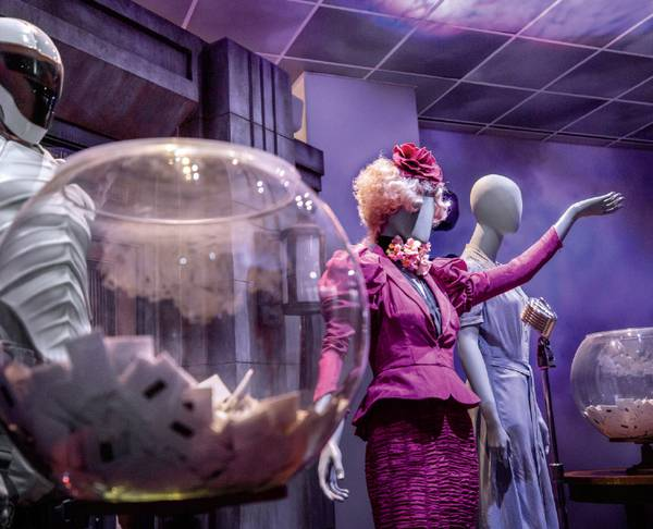 Enter a future world at Hunger Games: The Exhibition in Las Vegas