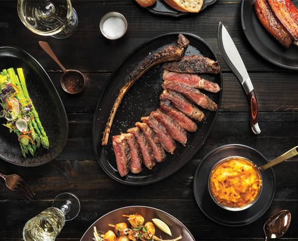 Bugsy & Meyer's Steakhouse is a stunning Vegas showcase