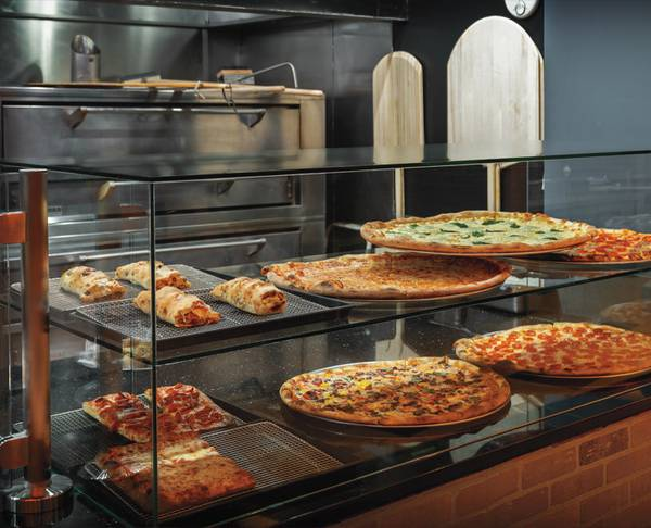 Enjoy a naughty nibble at Side Piece Pizza in Las Vegas